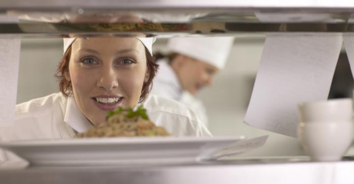 chefkok vrouw