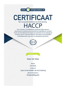Certificaat e-learning