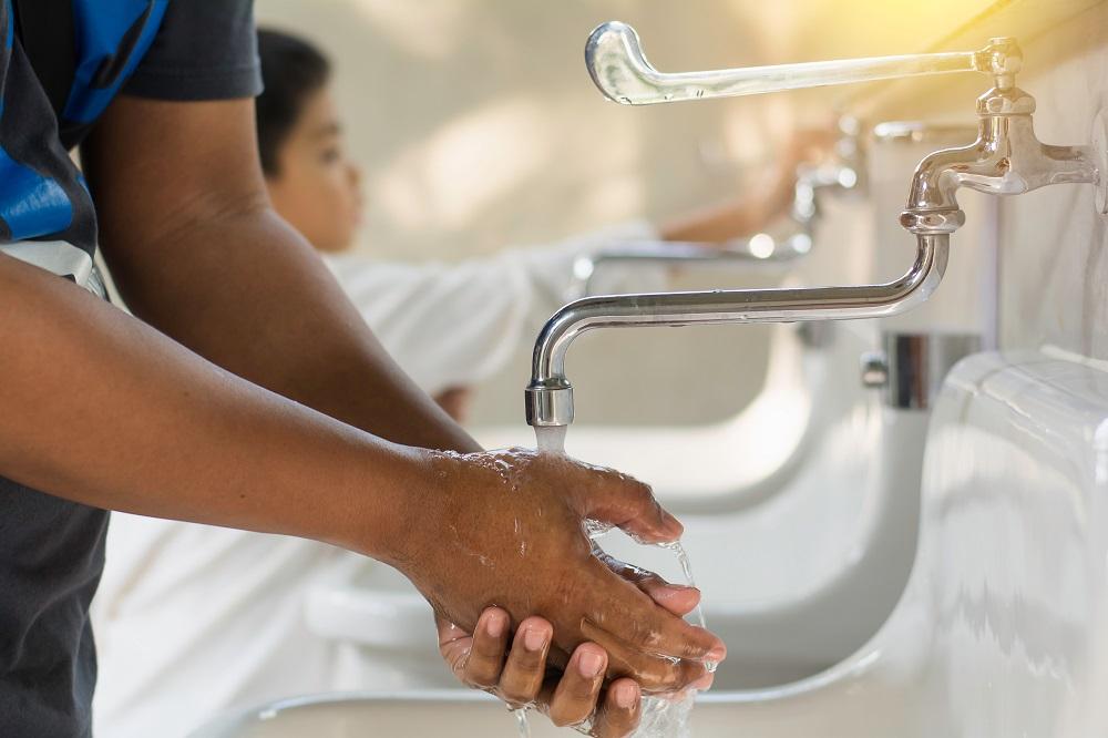 Handen wassen verbetert de voedselveiligheid