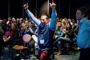 Beste Nieuwkomer 2019 Zorggroep de Laren, Villa Marijke Elisabeth, keuken te Hilversum blij met prijs